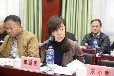 宝鸡市建筑业协会秘书长 田新惠