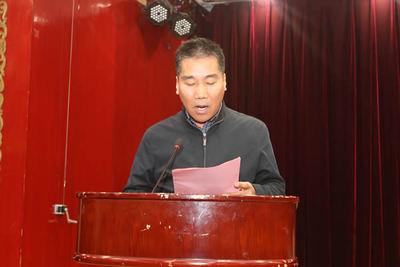陕西省建筑业协会监事宁小社宣布《关于公布AAA级信用企业名单的通知》