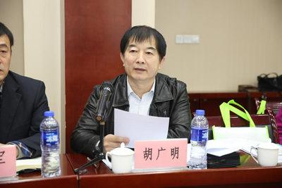 陕建五建集团发展部部长 胡广明